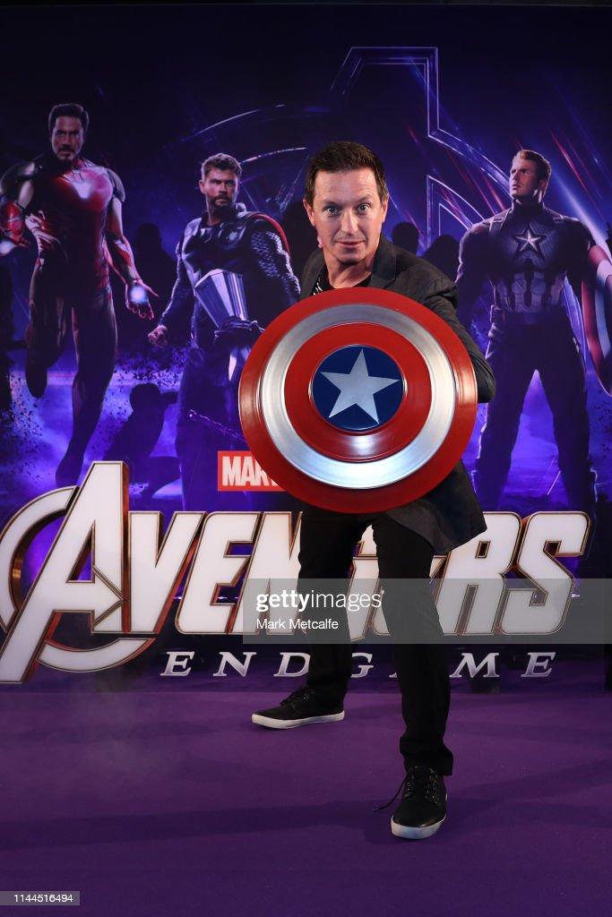 AUS: Avengers: Endgame Sydney Screening - Arrivals