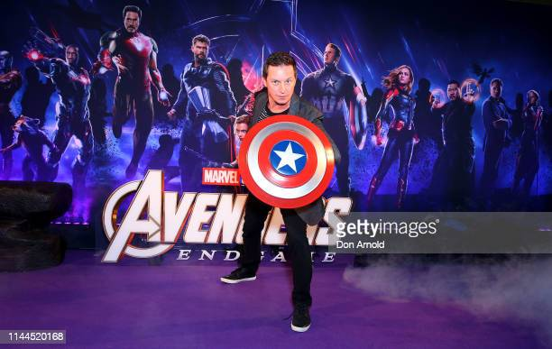 Rove McManus attends the Sydney screening of Avengers End Game at Hoyts Entertainment Quarter on April 23 2019 in Sydney Australia
