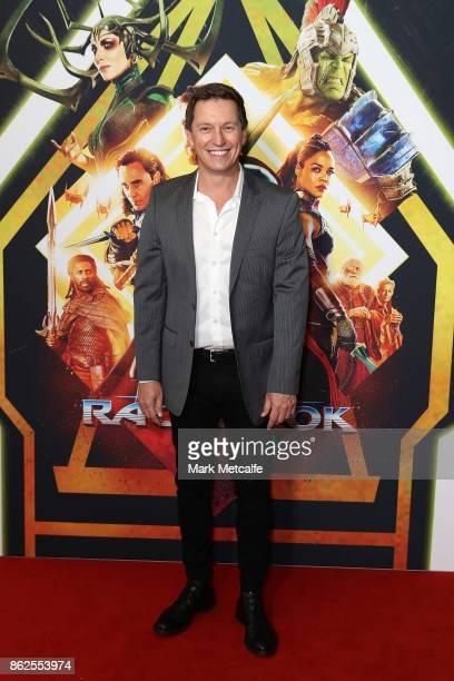 Rove McManus attends the Thor Ragnarok Sydney Screening Event on October 15 2017 in Sydney Australia