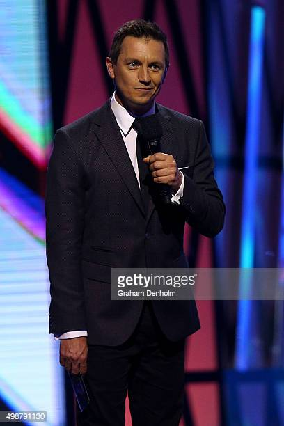 Rove McManus during the 29th Annual ARIA Awards 2015 at The Star on November 26 2015 in Sydney Australia