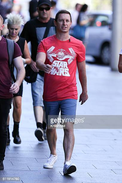 Rove McManus is seen on February 24, 2016 in Sydney, Australia.