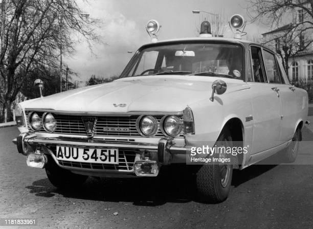 Rover 3500 P6B police car Courtesy B M I H T. Creator: Unknown.