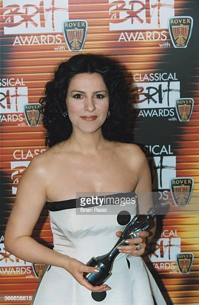 Rover Classical Music Brit Awards 2001 At The Royal Albert Hall London Britain Angela Gheorghiu
