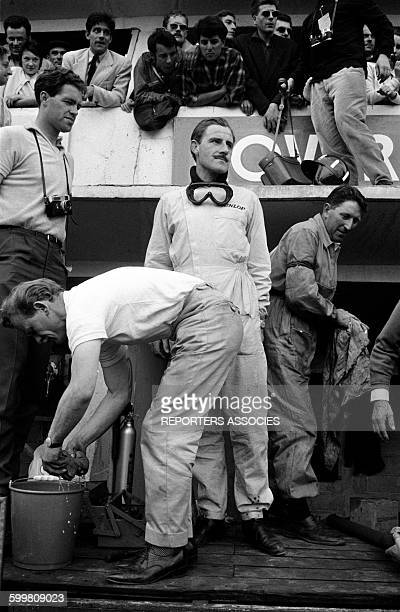 Rover Pilot Graham Hill at the Auto Race the 24 Hours of Le Mans France in June 1963