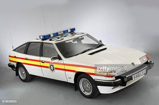 Rover SD1 Police patrol car. Artist Unknown.