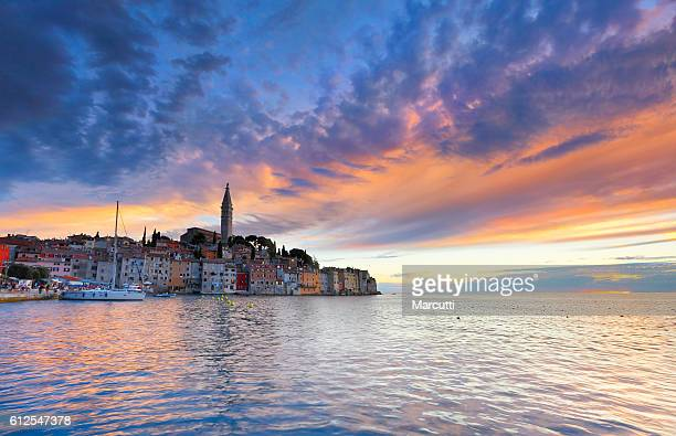 rovinj croatia - adriatic sea stock pictures, royalty-free photos & images