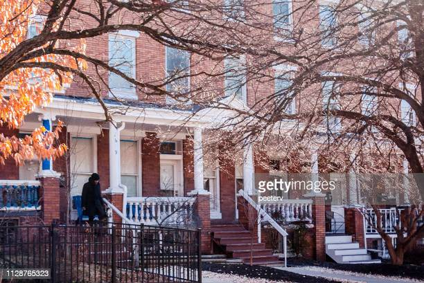 Row houses - Charles Village, Baltimore