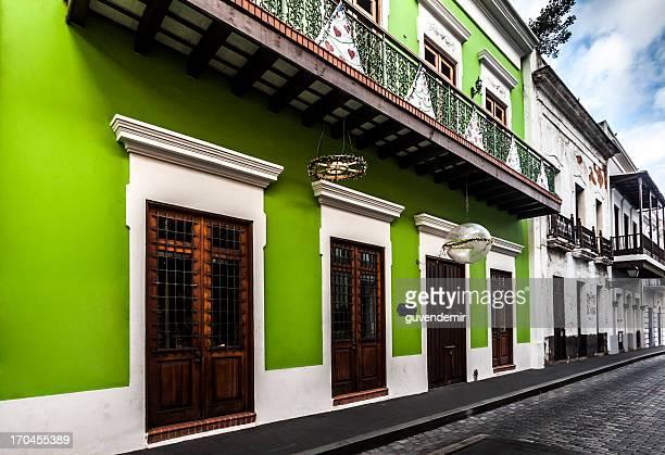 Row Houses in Old San Juan