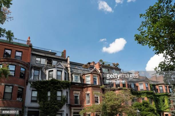 Row Houses  of Boston, Massachusetts