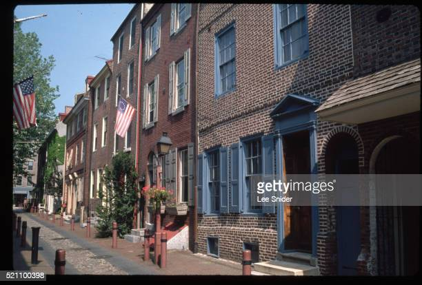 Row Houses of Elfreth's Alley