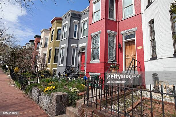 row houses on Capitol Hill washington DC