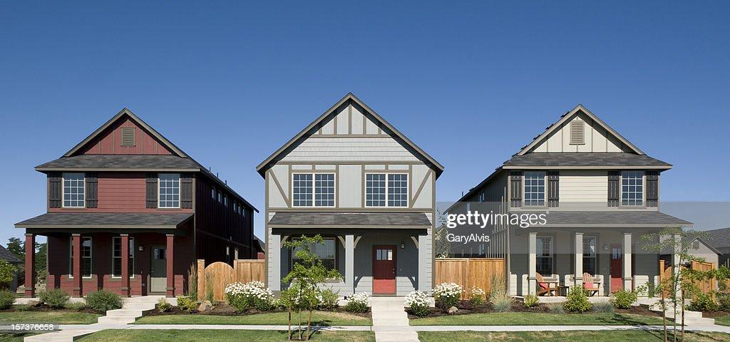 row houses - Houses Pic