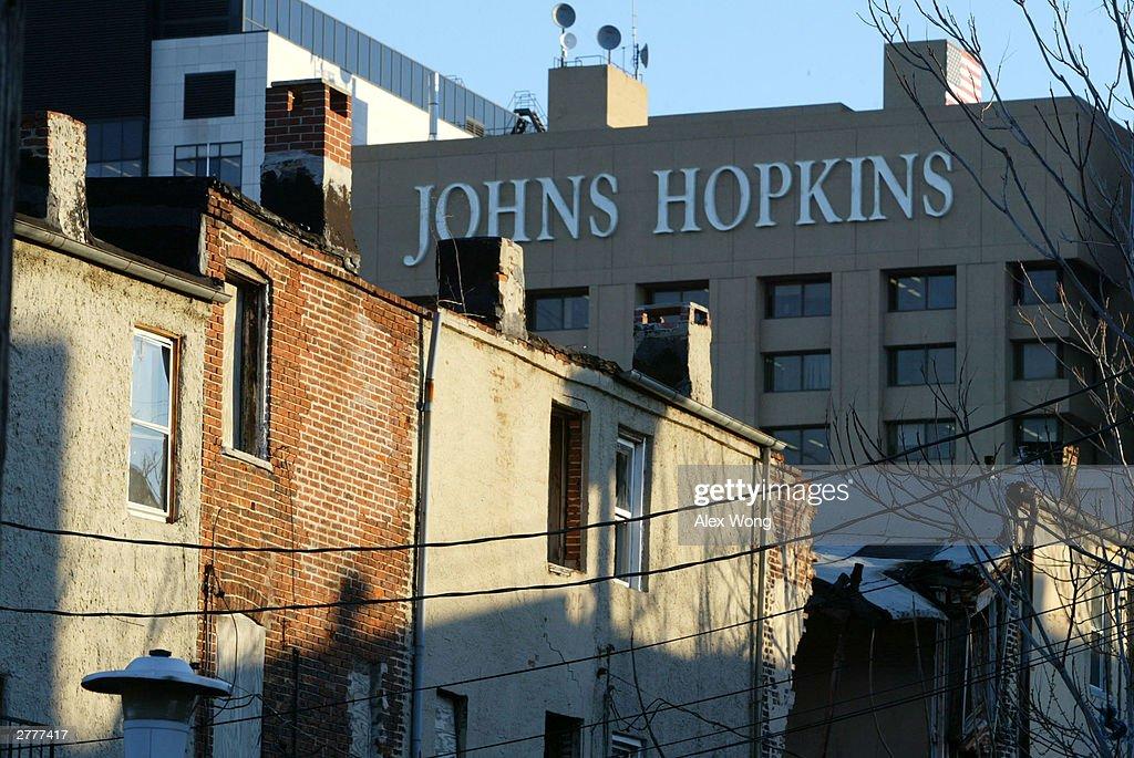 Baltimore Row Houses Ghetto