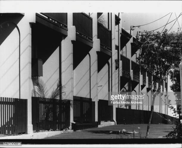 Row of 13 Terrace Houses in Jones st Ultimo between Quarry and Fig Sts September 23 1983