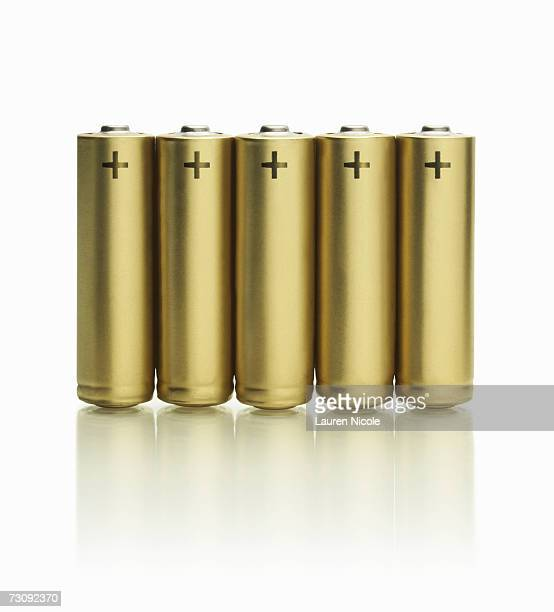 Row of batteries