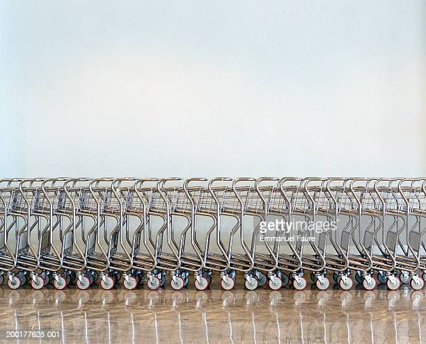 Row of carts