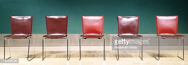 row of chairs - shareholder stock pictures, royalty-free photos & images