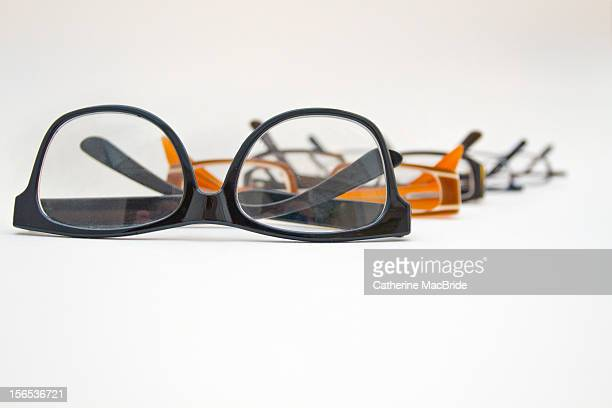 a row of glasses - catherine macbride stock pictures, royalty-free photos & images