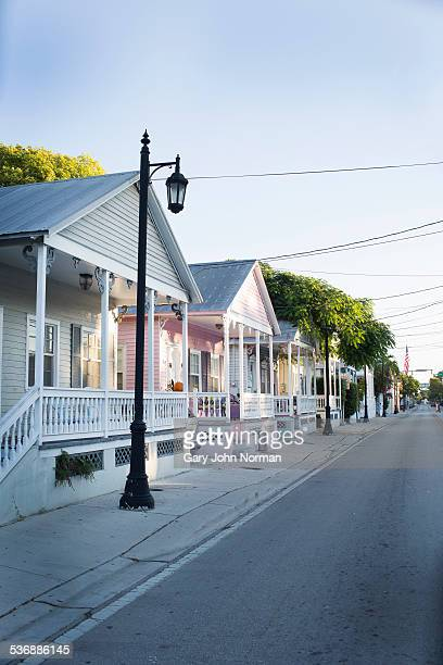 Row of houses in Key West