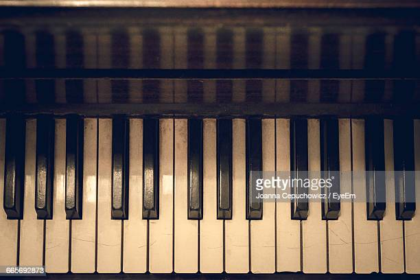 row of key of classical piano - piano key stock pictures, royalty-free photos & images