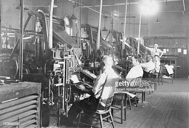 60 Top Linotype Pictures, Photos, & Images - Getty Images