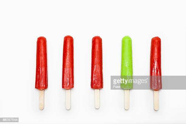 Row of Popsicle