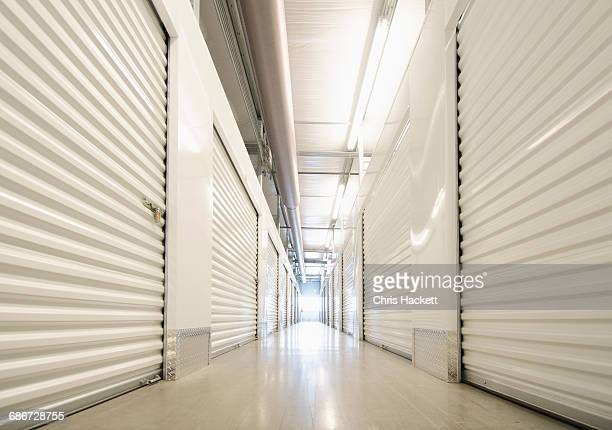 row of self storage units - self storage stock pictures, royalty-free photos & images
