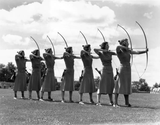 Seven Archers Wall Art