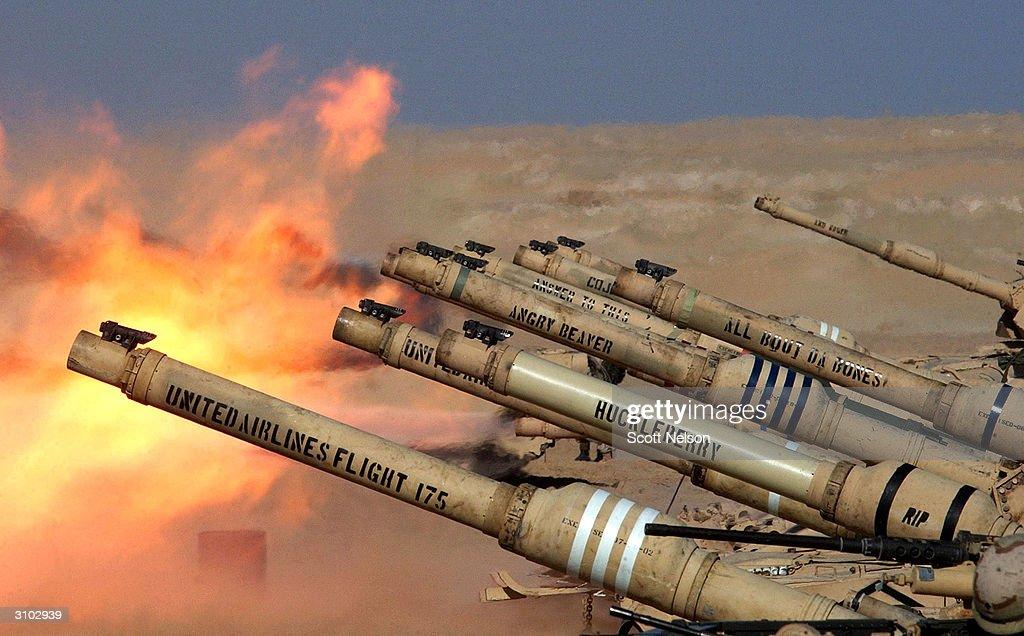 U.S. Soldiers Train In Kuwait : News Photo