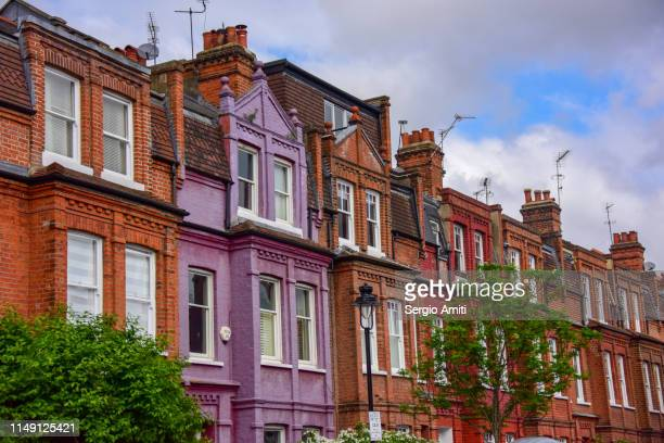 Row of Victorian Townhouses