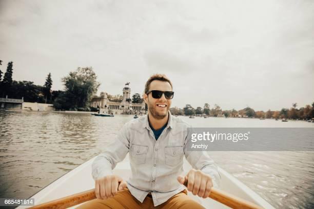 Fila, hilera, su barco