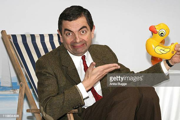 "Rowan Atkinson as ""Mr. Bean"" during ""Mr. Bean's Holiday"" Berlin Photocall at Adlon Hotel Berlin in Berlin, Germany."
