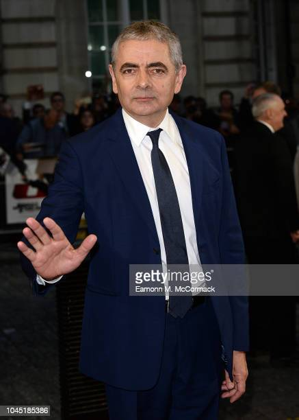 Rowan Atkinson attends Special Screening of Johnny English Strikes Again at The Curzon Mayfair on October 3, 2018 in London, England.