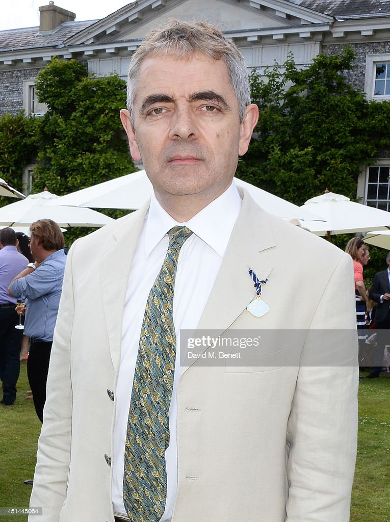 Rowan Atkinson attends the Cartier Style & Luxury Lunch at the Goodwood Festival of Speed on June 29, 2014 in Chichester, England.