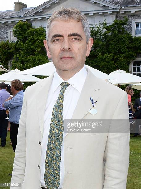Rowan Atkinson attends the Cartier Style Luxury Lunch at the Goodwood Festival of Speed on June 29 2014 in Chichester England