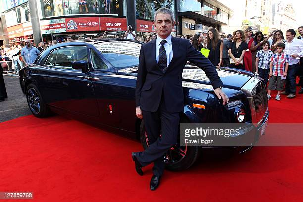 Rowan Atkinson attends the UK premiere of Johnny English Reborn at The Empire Leicester Square on October 2 2011 in London United Kingdom