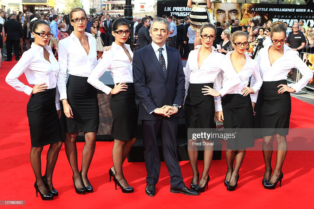 Johnny English Reborn - UK Premiere - Ouside Arrivals