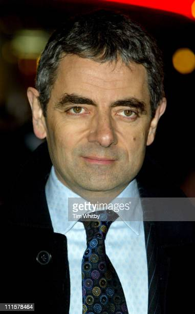Rowan Atkinson during 'Keeping Mum' London Premiere at Vue Leicester Square in London Great Britain