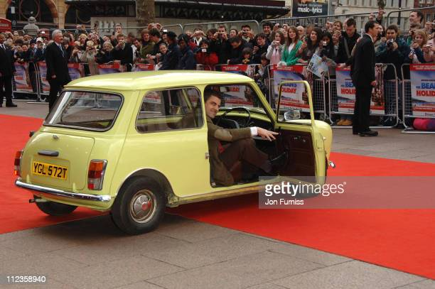 Rowan Atkinson during Mr Bean's Holiday London Charity Premiere Inside Arrivals at Odeon Leicester Square in London Great Britain