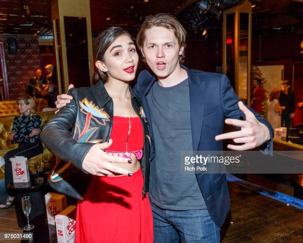 Rowan Blanchard and actor Jack Kilmer attend an event where Flaunt Presents a private screening of Eva Dolezalova's Carte Blanche at Hollywood...