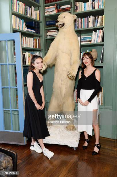 Rowan Blanchard and Gia Coppola attend Tania Fares and Rosetta Getty, Together with Eric Buterbaugh, Gia Coppola, Jacqui Getty, Irena Medavoy,...