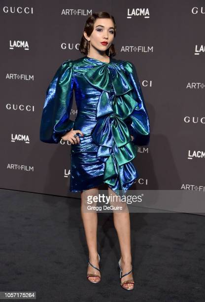 Rowan Blanchard arrives at the 2018 LACMA Art Film Gala at LACMA on November 3 2018 in Los Angeles California