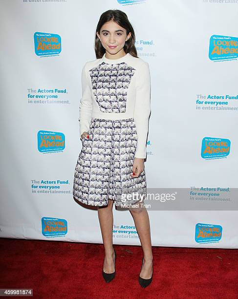 Rowan Blanchard arrives at The Actor's Fund 2014 The Looking Ahead Awards held at Taglyan Cultural Complex on December 4 2014 in Hollywood California