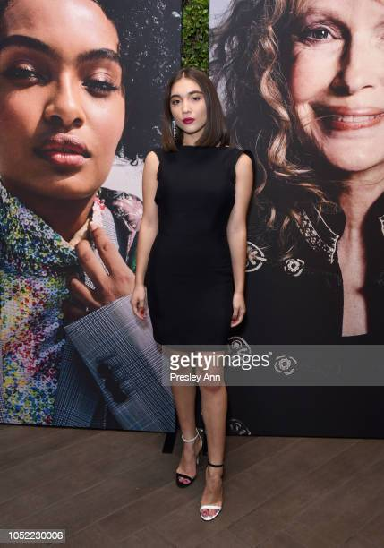 Rowan Blanchard attends ELLE's 25th Annual Women In Hollywood Celebration presented by L'Oreal Paris Hearts On Fire and CALVIN KLEIN at Four Seasons...