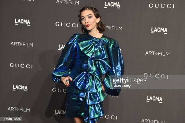 Rowan Blanchard attends LACMA Art Film Gala 2018 at Los Angeles County Museum of Art on November 3 2018 in Los Angeles CA