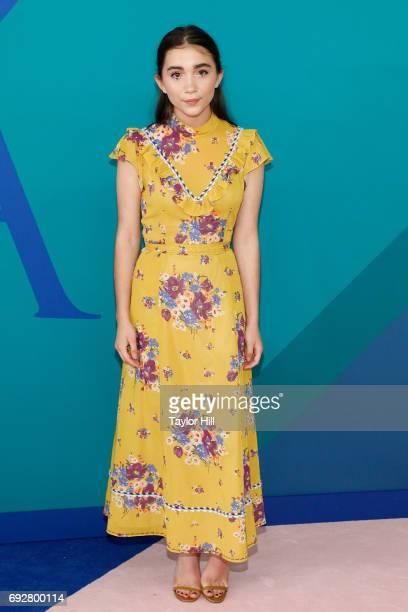 Rowan Blanchard attends the 2017 CFDA Fashion Awards at Hammerstein Ballroom on June 5 2017 in New York City