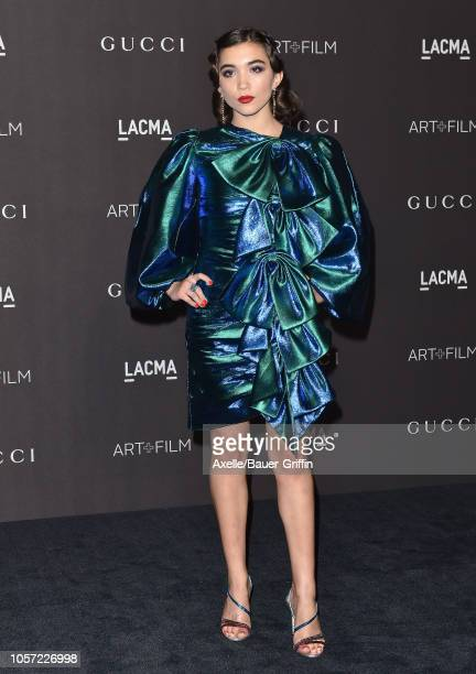 Rowan Blanchard attends the 2018 LACMA Art Film Gala at LACMA on November 03 2018 in Los Angeles California