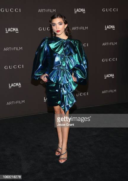Rowan Blanchard attends the 2018 LACMA Art Film Gala at LACMA on November 03 2018 in Los Angeles California