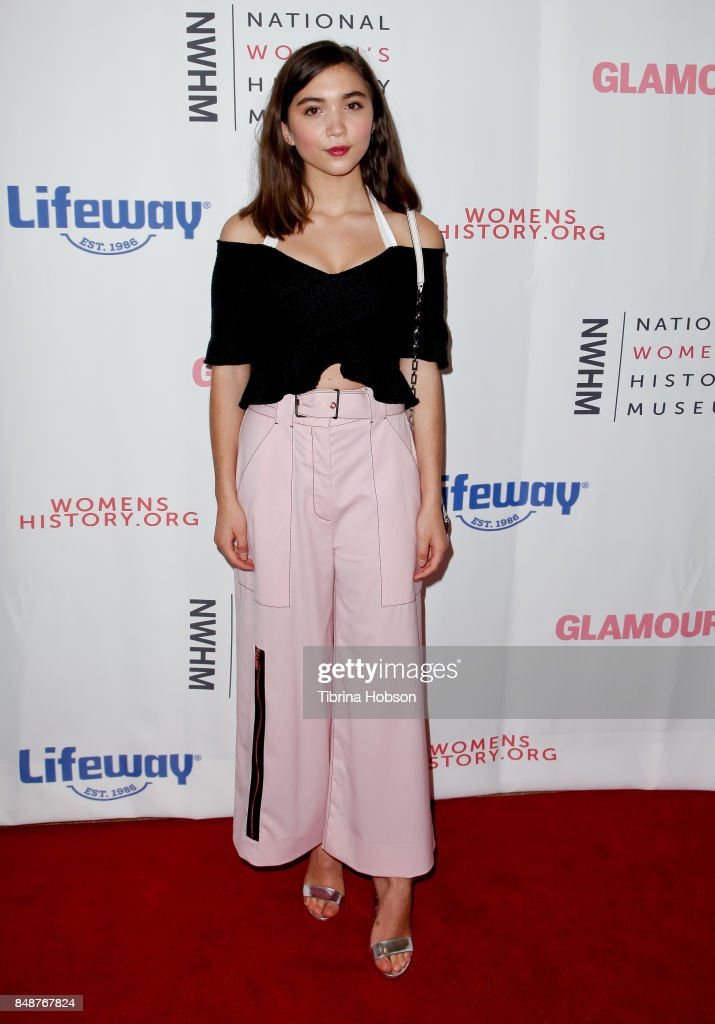 Rowan Blanchard attends the 6th Annual Women Making History Awards at The Beverly Hilton Hotel on September 16, 2017 in Beverly Hills, California.