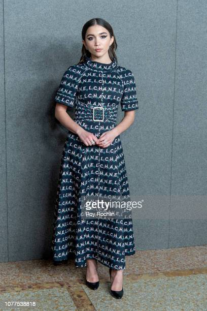 Rowan Blanchard attends the Chanel Metiers D'Art 2018/19 Show at The Metropolitan Museum of Art on December 04 2018 in New York City